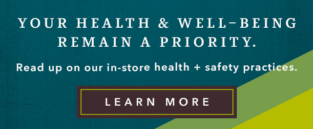 Your Health & Well-Being are Very Important to US - Learn More